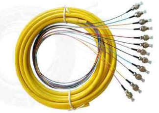 Bundle multi-fiber pigtail
