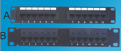 Category 6 Patch Panels