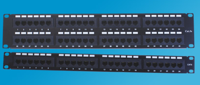 Category 5e Patch Panels