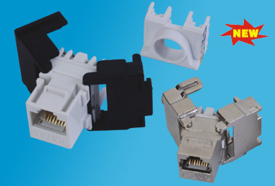 UTP/FTP Cat.6A/6 keystone jack