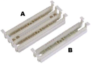 110 type 100/50 Pairs termination kits W/O legs