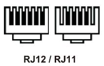 RJ12/RJ11