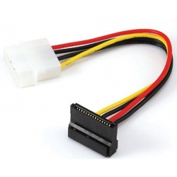 Power SATA Cables SATA 15Pin angled-power 4pin