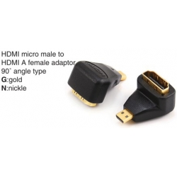 TR-11-P-001A HDMI A male to HDMI A female adaptor