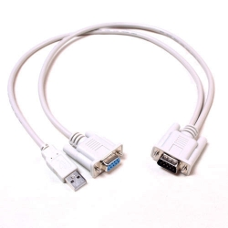 2 in 1 VGA+USB cable