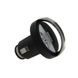 USB CAR CHARGER WITH PULL RING