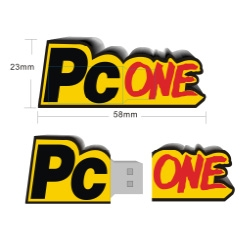pvc usb flash