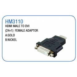 HDMI MALE TO DVI (24+1)FEMALE ADAPTOR