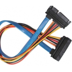 SATA 7+15Pin Male to Female