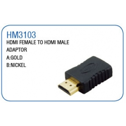 HDMI FEMALE TO HDMI MALE ADAPTOR