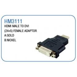 HDMI MALE TO DVI (24+5)FEMALE ADAPTOR