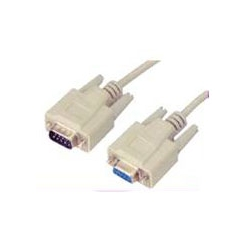 SERIAL CABLE DB9M TO DB9F