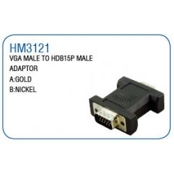 VGA MALE TO HDB15P MALE ADAPTOR