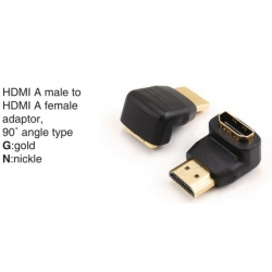 TR-11-P-019B HDMI A male to HDMI A female adaptor