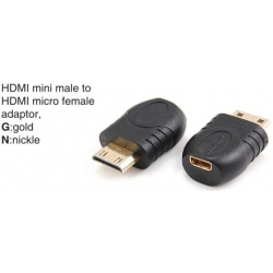 TR-12-P-007 HDMI A male to HDMI A female adaptor