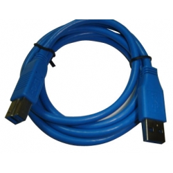 1.8M USB3.0 A/M to B/M blue