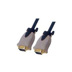 MOULDED HD 15PIN PLUG TO HD 15PIN PLUG