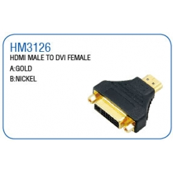 HDMI MALE TO DVI FEMALE