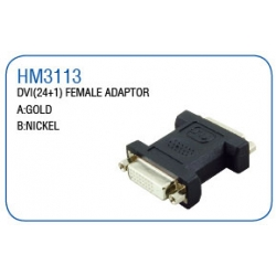 DVI(24+1)FEMALE ADAPTOR