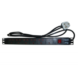 6 WAY PDU FOR UK STYLE