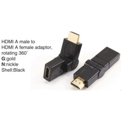 TR-11-006 HDMI A male to HDMI A female adaptor,swing type