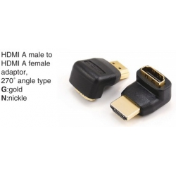 TR-12-P-019A HDMI A male to HDMI A female adaptor