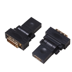 DVI 24+1 Male to HDMI Female Adaptor