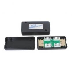 Connector Box Un-Shielded Black Color