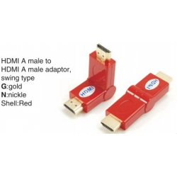 TR-13-010-3 HDMI A male to HDMI A female adaptor,swing type