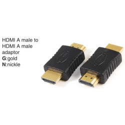 TR-10-P-021 HDMI A male to HDMI A male adaptor