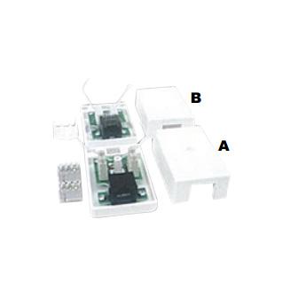 Mount Box Single Port UN-Shielded Type