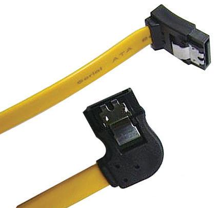 SATA 3.0 Cable, right to up with lock