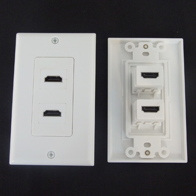 HDMI Component Wall Plates