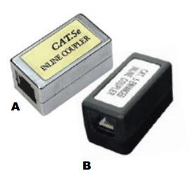 RJ45 Socket to RJ45 Socket