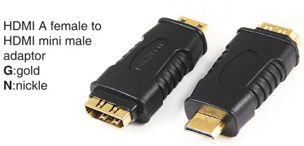 TR-10-P-003 HDMI A male to HDMI A male adaptor