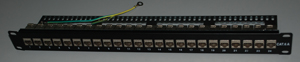 1324S-Cat6A FTP patch panel