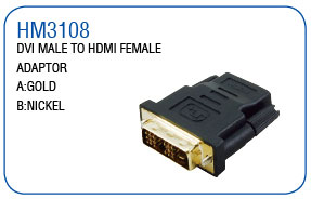 DIV MALE TO HDMI FEMALE ADAPTOR