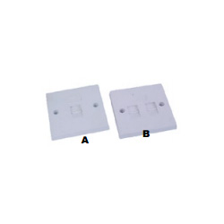 1/2 Ports Wall Plate
