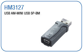 USB AM-MINI USB 5P-BM