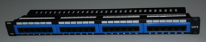 1124-Cat6 patch panel