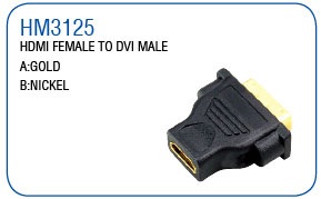 HDMI FEMALE TO HDMI MALE