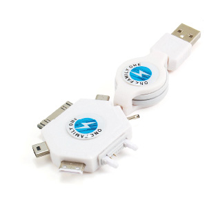 Multifunctional Retractable USB cable for