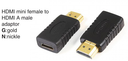 TR-10-P-004 HDMI A male to HDMI A male adaptor