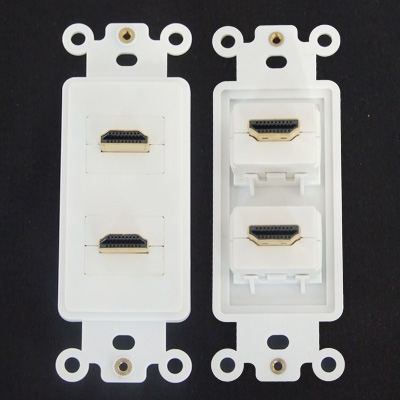Component HDMI Wall Plate