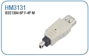IEEE1394 6P F-4P M