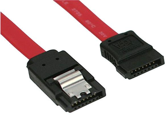 SATA 3.0 Cable, straight to straight with lock