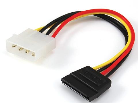 SATA 15Pin/Power big 4pin male