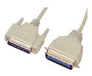 25C PRINTER CABLE DB25M TO CENTRONIC 36M