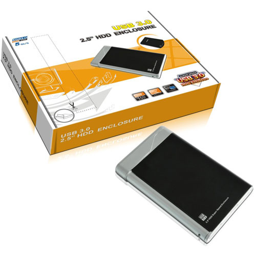 USB3.0 Super-Speed 2.5''HDD Enclosure