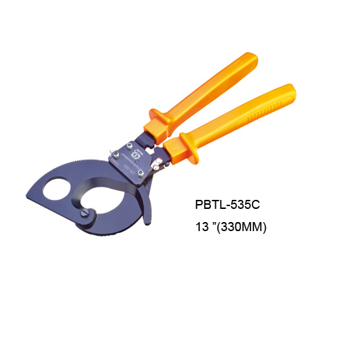Ratchet Cable Cutter With Low Hand Force